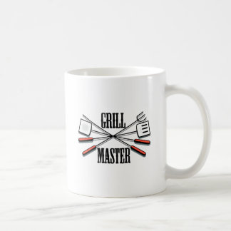 Grill Master Classic White Coffee Mug