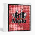 Grill Master con las herramientas del Bbq
