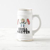 Grill Master Cowboy Beer Stein