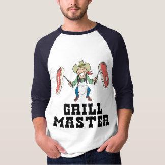 Grill Master Cowboy T-Shirt