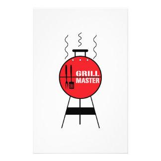 Grill Master Custom Stationery
