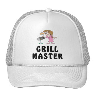 Grill Master Female Hats