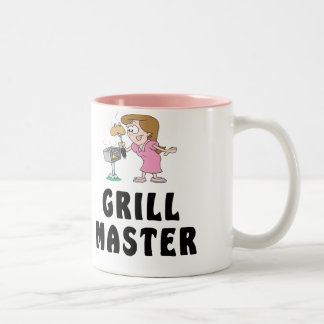 Grill Master Female Two-Tone Coffee Mug