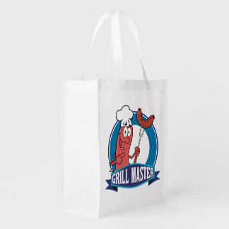 Grill Master Grocery Bag