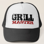 "Grill master hat<br><div class=""desc"">Grill master hat for bbq kings. Barbeque party gear.</div>"