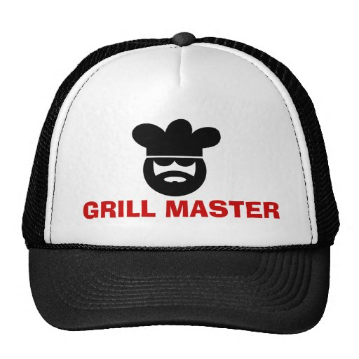 Grill master hat for BBQ lovers
