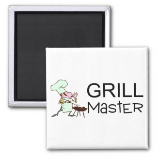 Grill Master Imán Cuadrado