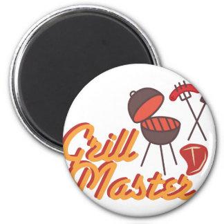 Grill Master Imán Redondo 5 Cm