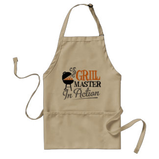 Grill Master In Action Adult Apron