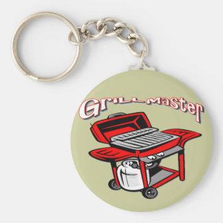 Grill Master Keychain