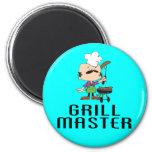 Grill Master  Magnet Magnet