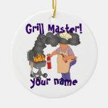 Grill Master personalizado Ornatos