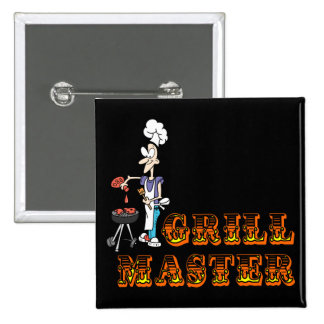 Grill Master Pin Cuadrada 5 Cm