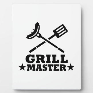 Grill Master Placas