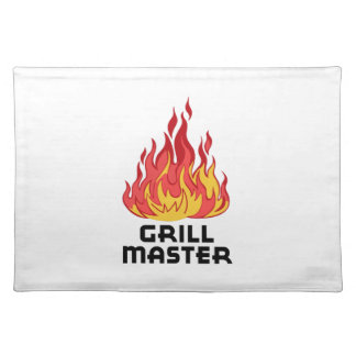 GRILL MASTER CLOTH PLACEMAT