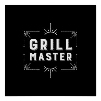 Grill Master Poster