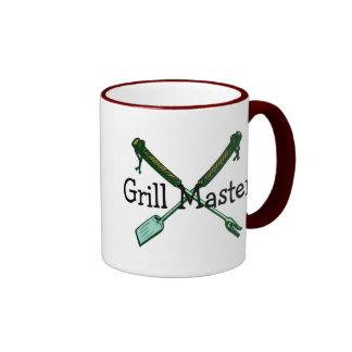 Grill Master Ringer Mug