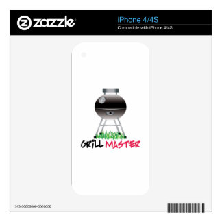Grill Master Skins For iPhone 4S