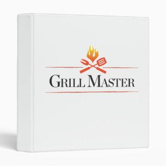 Grill Master Vinyl Binders