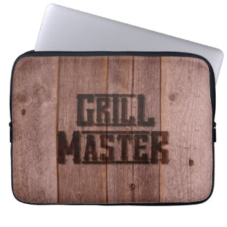 Grill Master Western Branding Iron Barbecue BBQ Laptop Sleeve