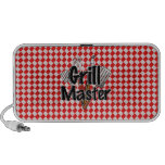 Grill Master with BBQ Tools & Picnic Table Laptop Speakers