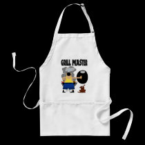 Grill Master with Dog aprons