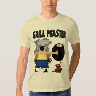 Grill Master with Dog T-Shirt