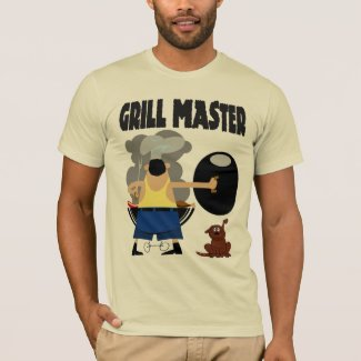 Grill Master with Dog