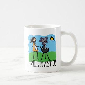 Grill Master Woman Coffee Mug