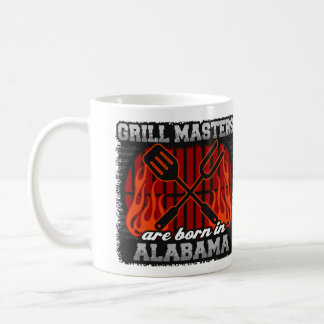 Grill Masters are Born in Alabama Coffee Mug