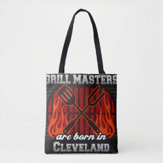Grill Masters are Born in Cleveland Ohio Tote Bag
