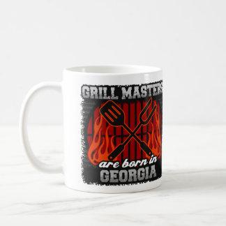 Grill Masters are Born in Georgia Coffee Mug