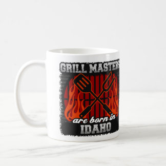 Grill Masters are Born in Idaho Coffee Mug