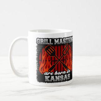 Grill Masters are Born in Kansas Coffee Mug