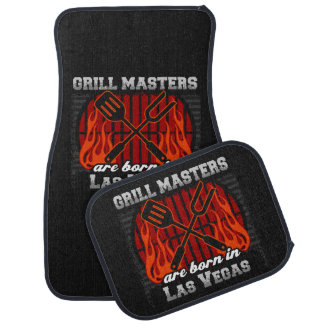 Grill Masters Are Born In Las Vegas Nevada Car Mat