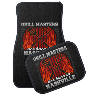 Grill Masters Are Born In Nashville Tennessee Car Floor Mat