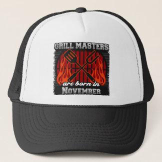 Grill Masters are Born in November Trucker Hat