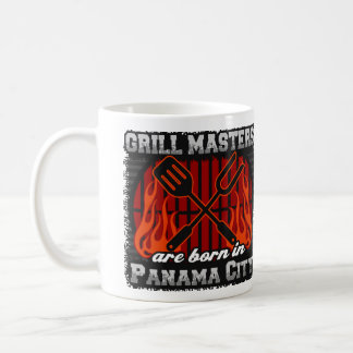 Grill Masters Are Born In Panama City Florida Coffee Mug