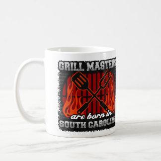 Grill Masters are Born in South Carolina Coffee Mug