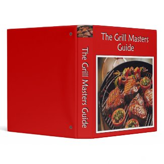 Grill Masters Guide binder