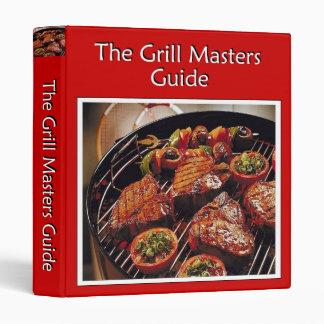 Grill Masters Guide Vinyl Binders