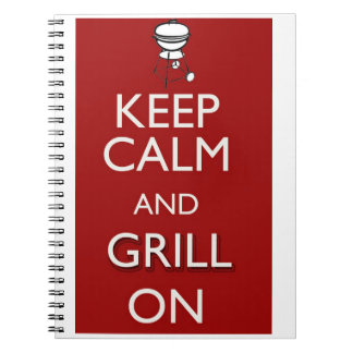 Grill On Notebook