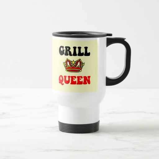 Grill Queen 15 Oz Stainless Steel Travel Mug