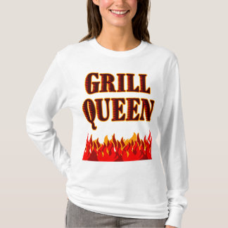 Grill Queen Funny BBQ Saying T-shirt