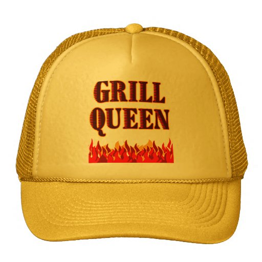 Grill Queen Funny BBQ Saying Trucker Hat