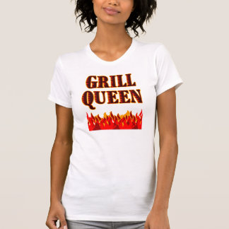 Grill Queen Funny BBQ Saying Tanktops