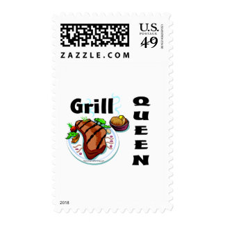 Grill Queen Stamps