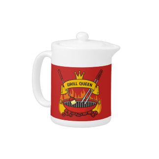 Grill Queen Teapot