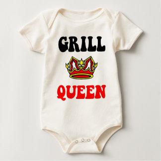 Grill Queen Baby Bodysuits