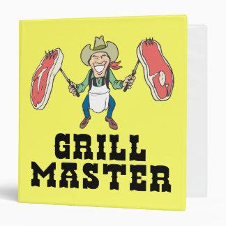 Grill Recipes Binder